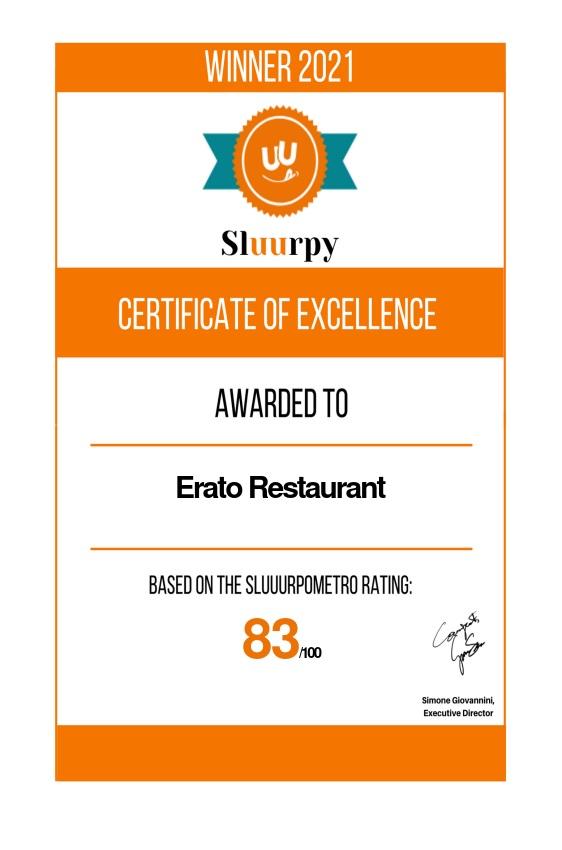Erato Restaurant - Sluurpy